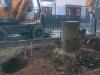 Escavatore gommato