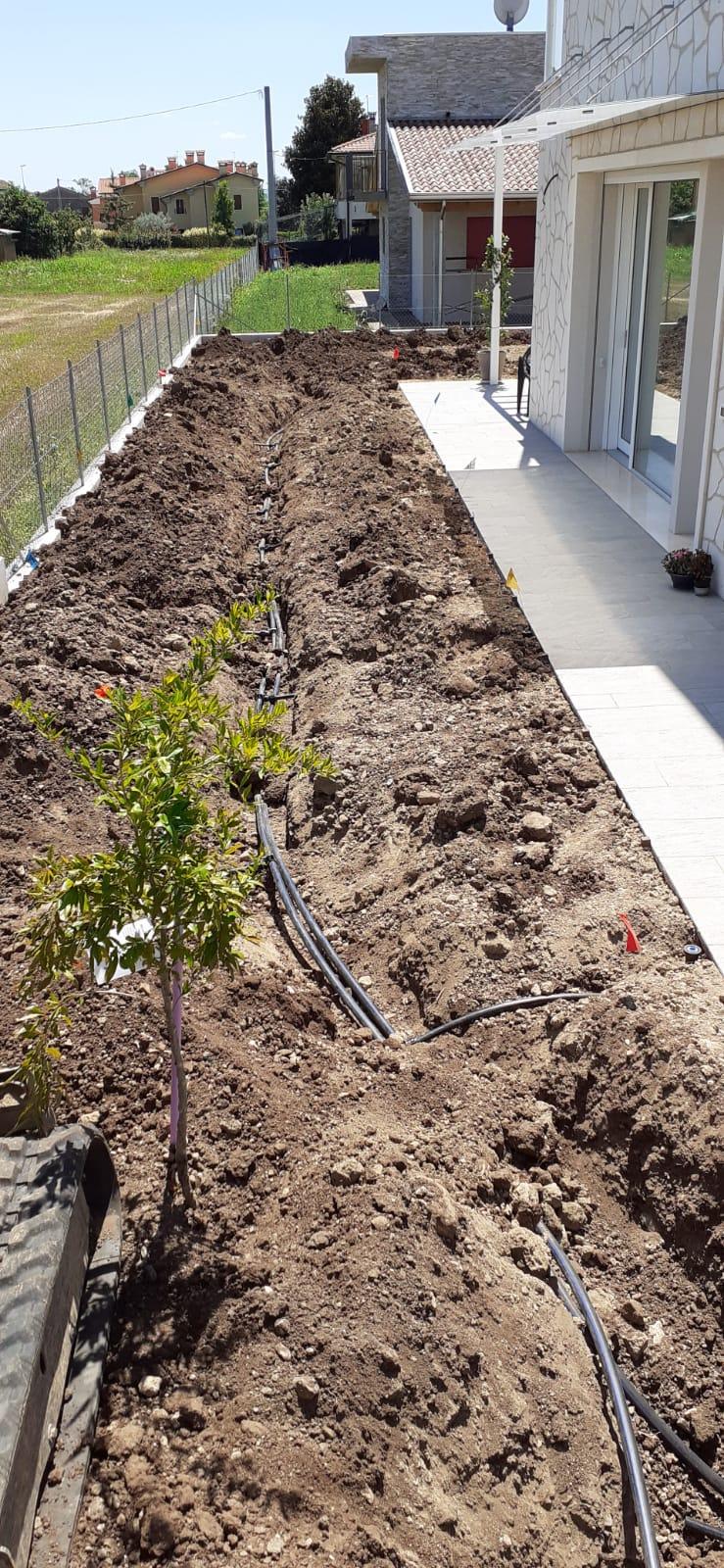 Realizzazione impianti di irrigazione