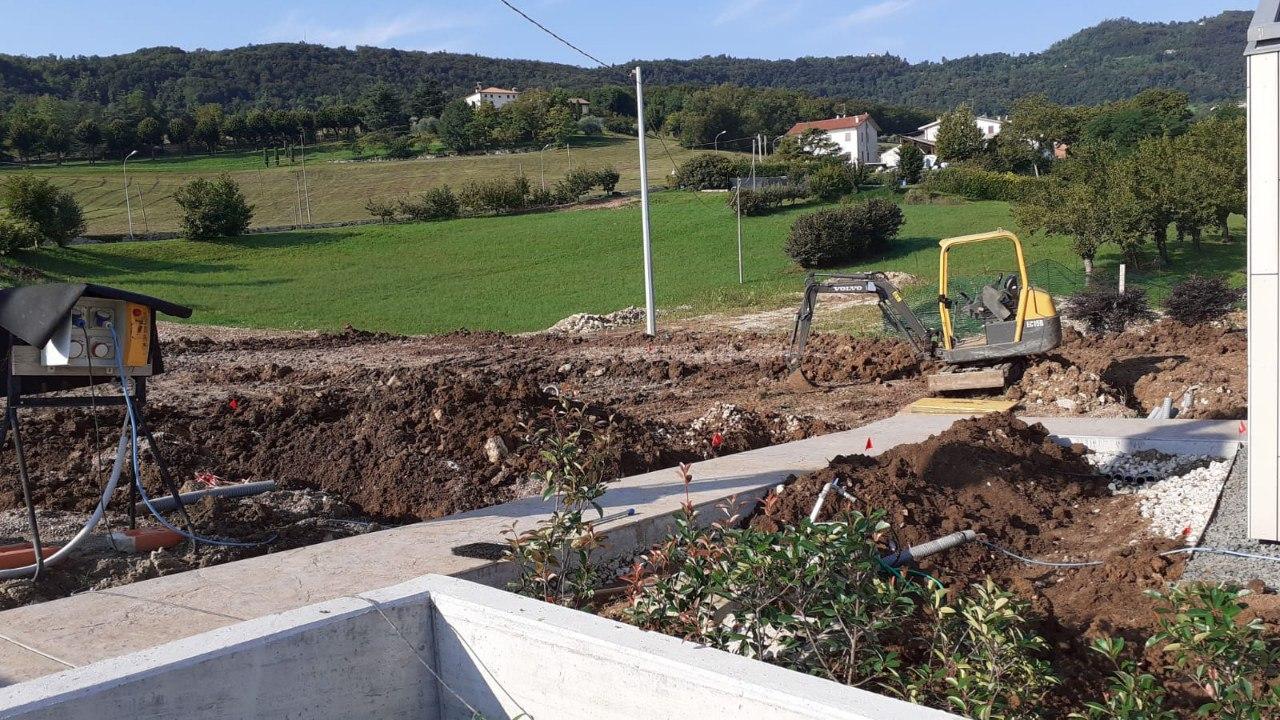 Realizzazione nuovo impianto di irrigazione