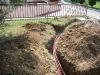Impianto idrico e impianto luci giardino