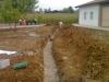 Realizzazione drenaggio con ghiaia