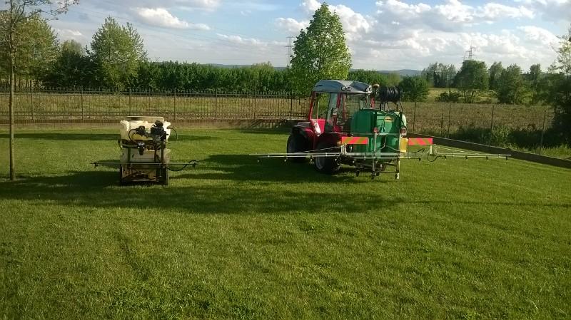 Irrigazione semina