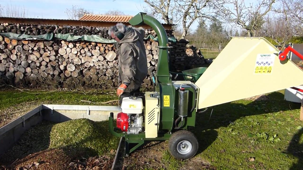 triturazione ramaglie thiene