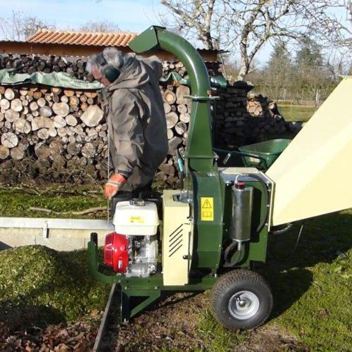 Triturazione smaltimento ramaglie Vicenza