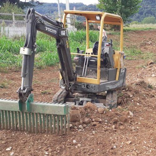Preparazione terreno nuovo giardino