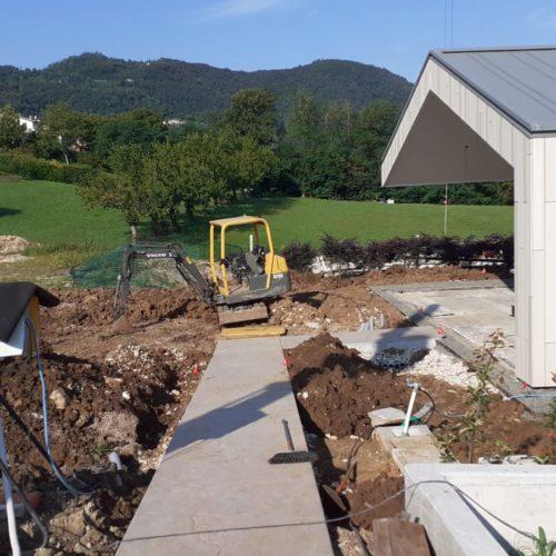 Realizzazione nuovo impianto irrigazione